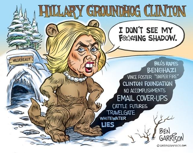 hillary_groundhog_ben_garrison